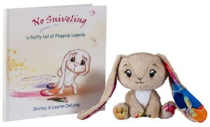 No Sniveling Book and Floppidy Loppidy Bunny Set