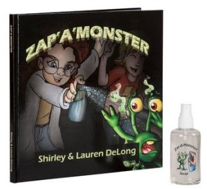 Zap-A-Monster Book and Spray Set